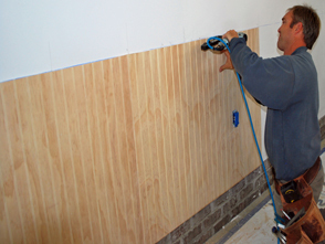 How To Stain Paneling Walls Fliesengestaltung Im