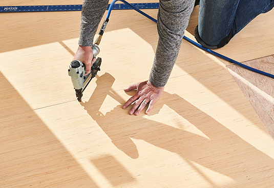 RevolutionPly® used as Underlayment