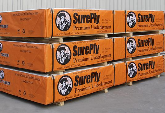 SurePly ® Premium Underlayment Crates