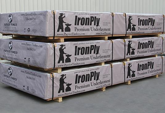 IronPly ® Premium Underlayment Crates