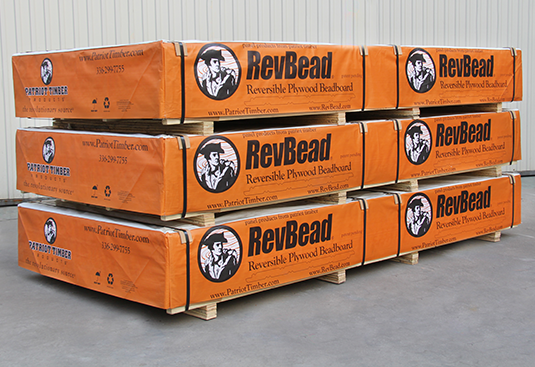 RevBead ® Reversible Plywood Beadboard Crates