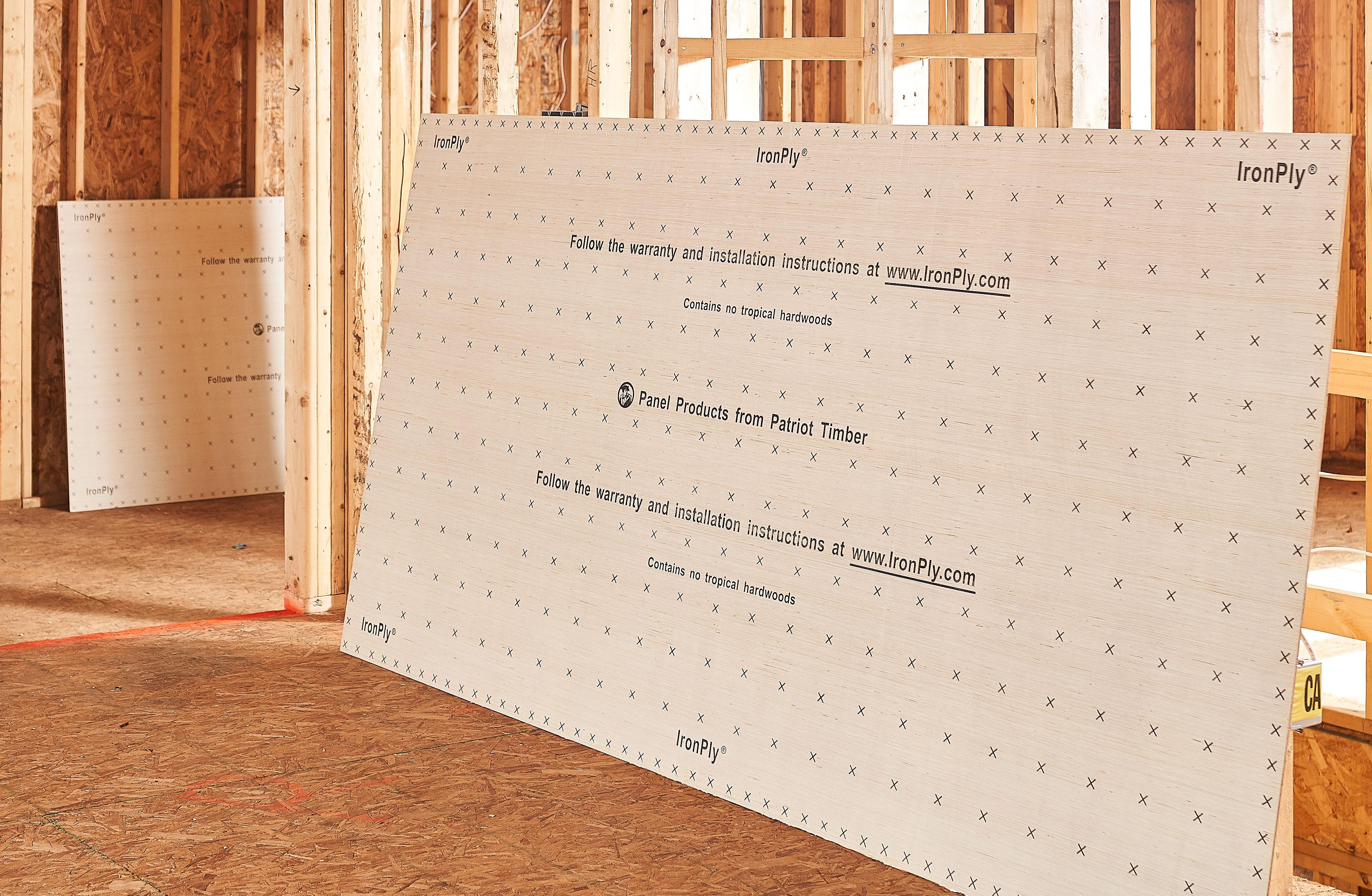 IronPly ® Premium Underlayment Panel