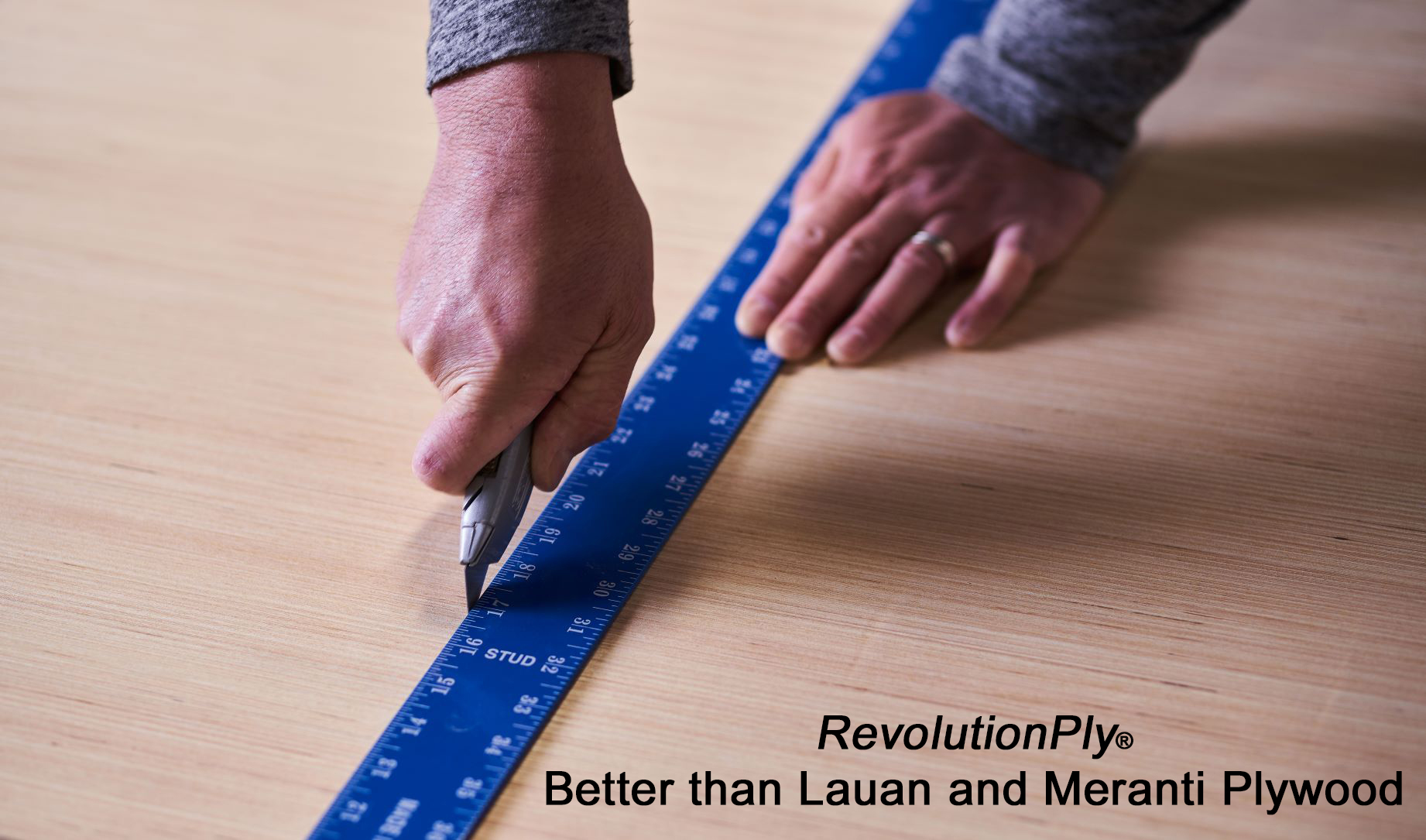 RevolutionPly® Plywood - Better than Lauan (Meranti) Plywood