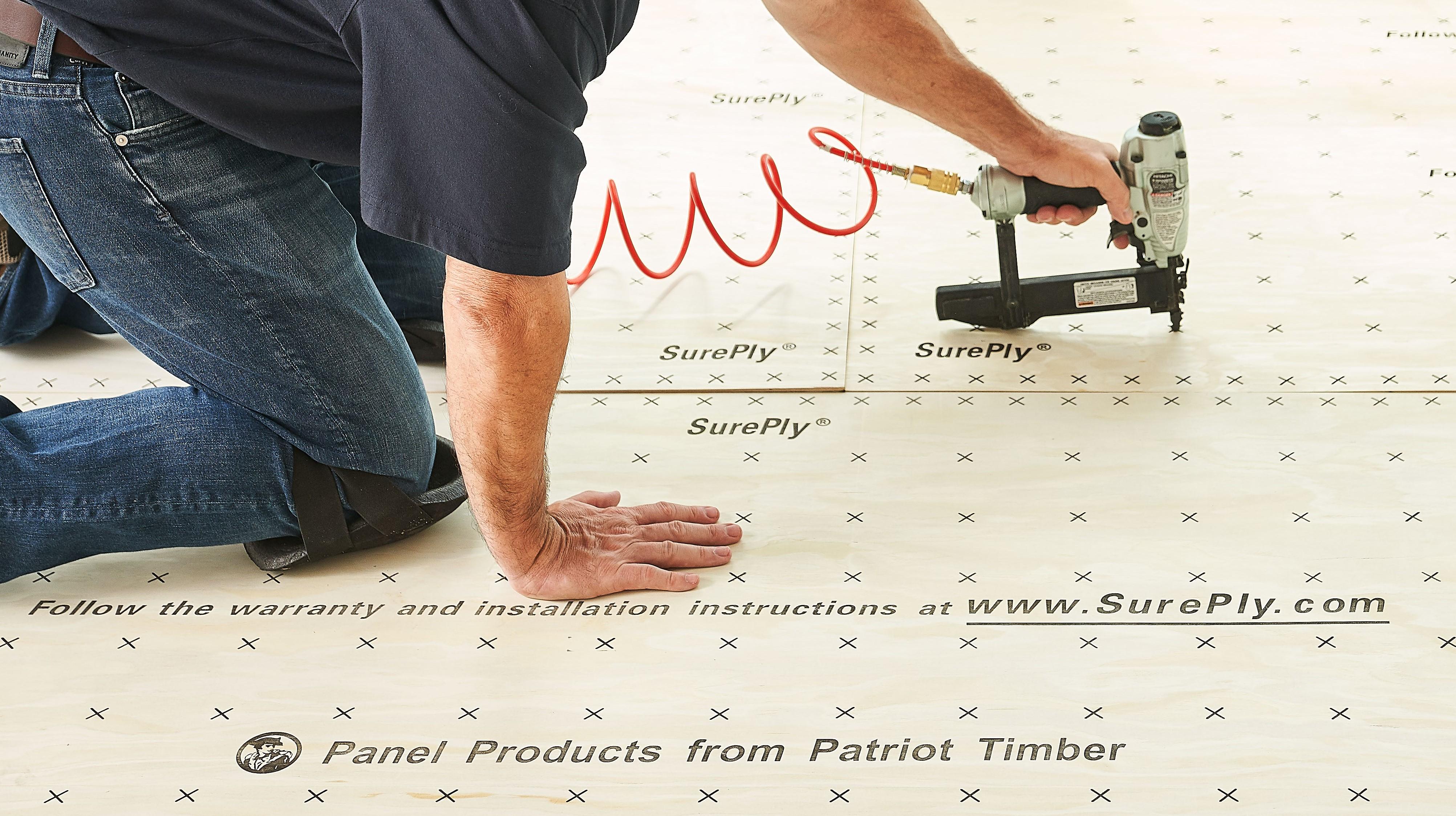 SurePly ® Premium Underlayment Installation