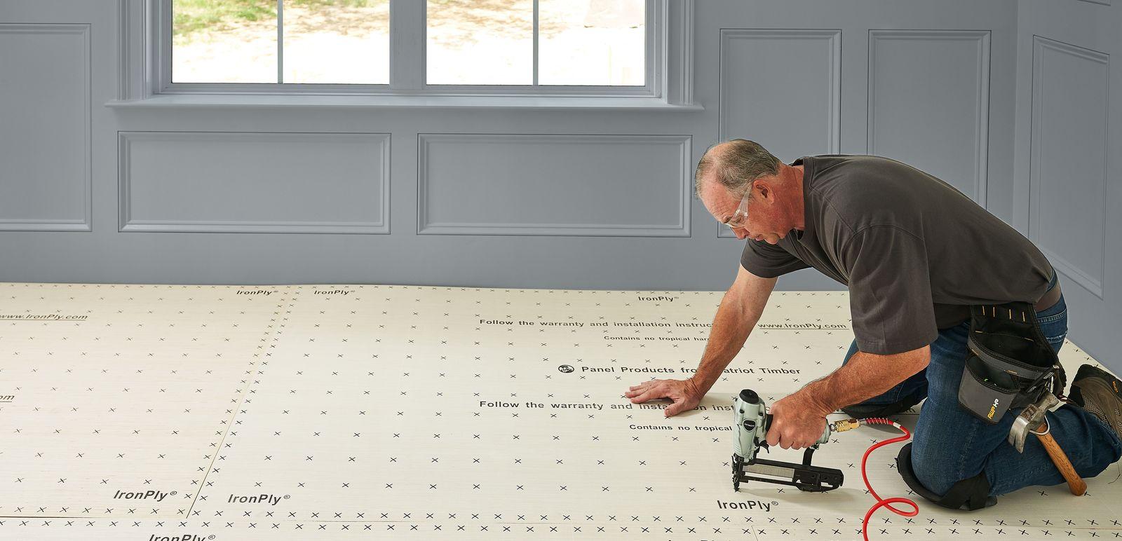 IronPly® Premium Plywood Underlayment