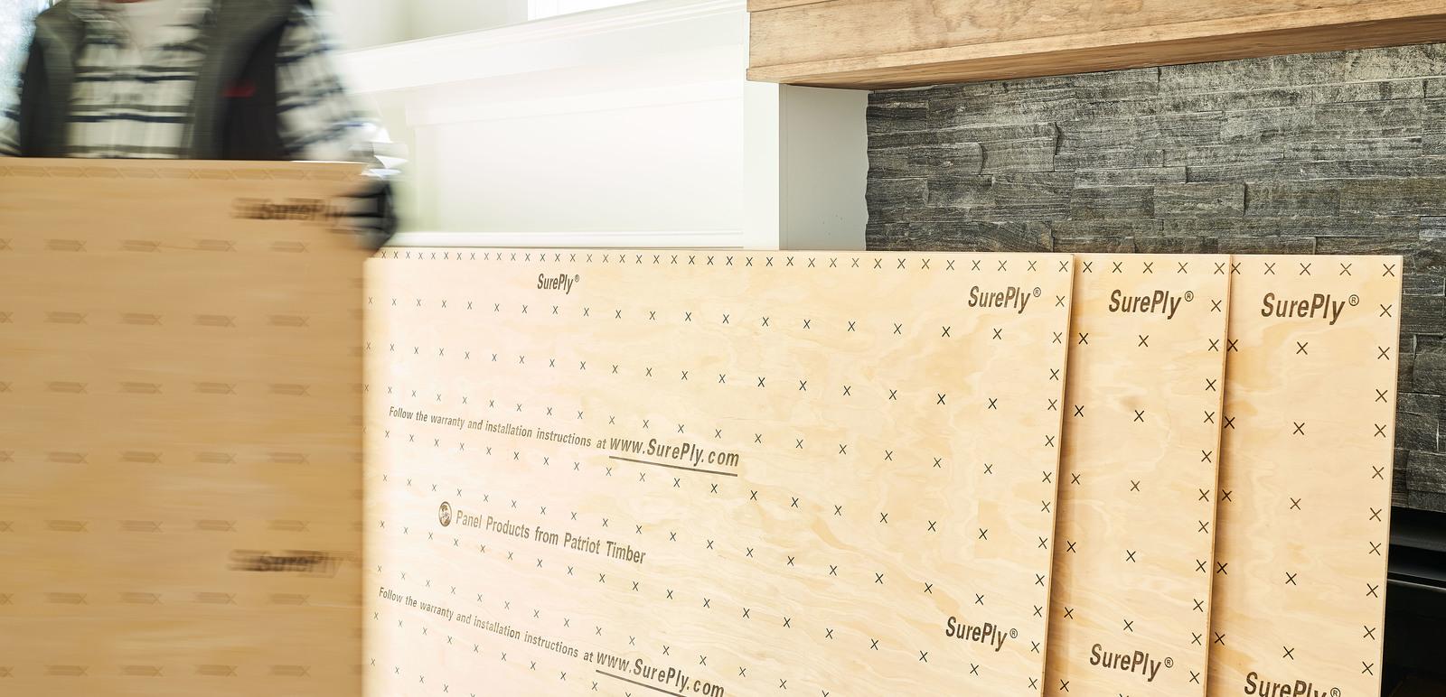 SurePly® Premium Plywood Underlayment